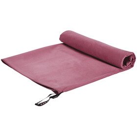 Cocoon Microfiber Towel - Serviette de bain - Ultralight Large rouge